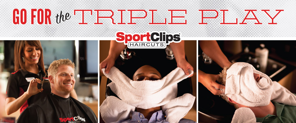 The Sport Clips Haircuts of The Promenade Triple Play